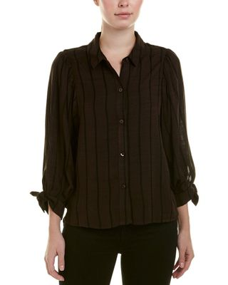 BCBGeneration Ruched Sleeve Top