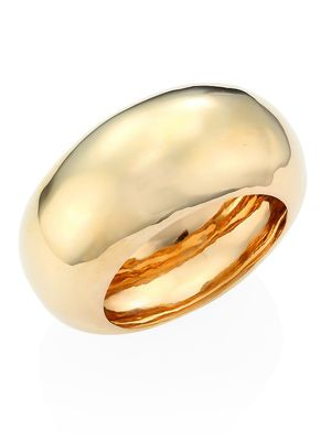 Alexis Bittar Elements 10K Goldplated Liquid Dome Large Bangle