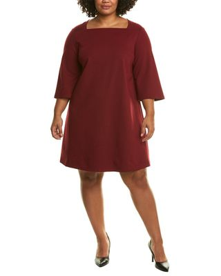 Lafayette 148 New York Plus Square Shift Dress