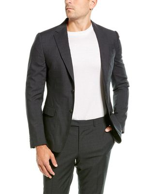 Z Zegna 2pc Wool Suit with Flat Pant