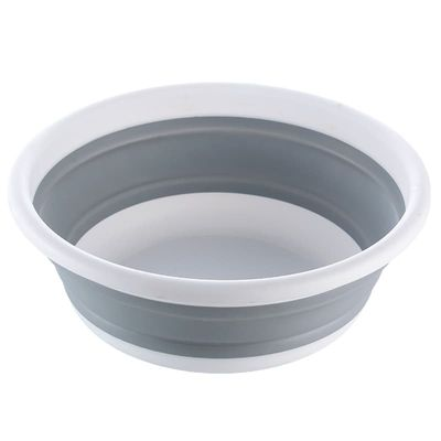 Large Size Portable Plastic Basin For Wash Car Clothes Vegetable Washing Folding Basins Home Kitchen Traveling Cleaning Tools