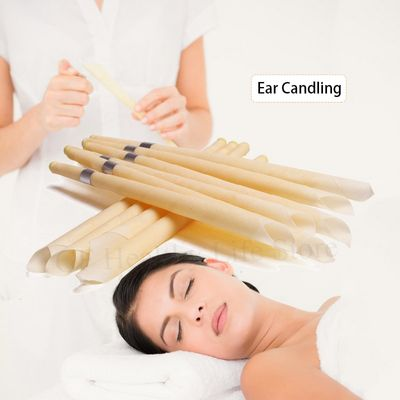 10pcs Ear Candles Natural Beeswax Ohrenkerzen Hopi Ear Candle Cleaner Earwax Ear Wax Removal Horn Indiana Candling Fragrance