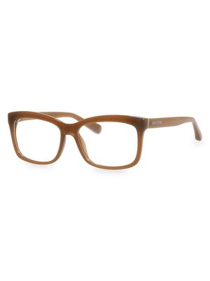 Bobbi Brown The Brooklyn 53MM Square Optical Glasses