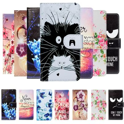 For Prestigio Muze X5 G7 F5 E7 E5 D5 LTE Muze B3 B7 Case Cartoon Wallet PU Leather Case