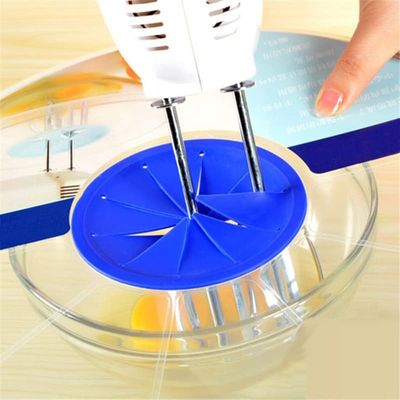 Egg Whisk Splatter Screen Splash Guard Silicone Bowl Lids Egg Beater Lids Mixer Cover Kitchen Tools Accessories