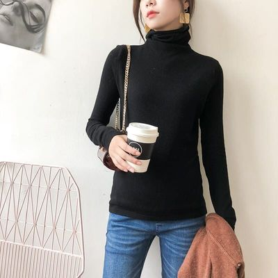 AutumnWinter Maternity Elastic Solid color Turtleneck Sweater Expectant Mother Sweater Pregnant Women Pregnancy Warm Clothes Top
