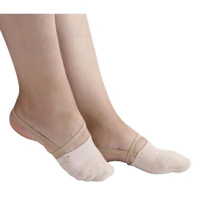 Rhythmic Gymnastics Shoes Soft Half Socks Knitted Roupa Ginastica Professional Competition Sole Shoes Protect Elastic Skin