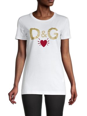Dolce & Gabbana Graphic Cotton Tee