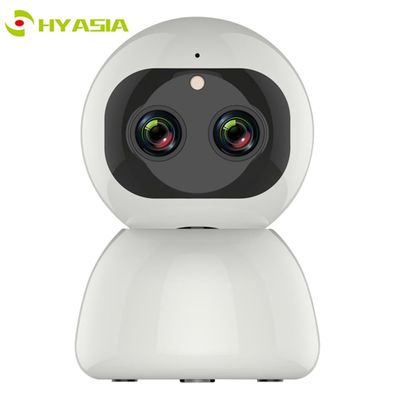 HYASIA IP Camera WIFI DUAL Lens 2MP Auto Tracking Zoom 1080P HD Indoor Home Pet CCTV Security Cloud IR Baby Monitor Surveillance
