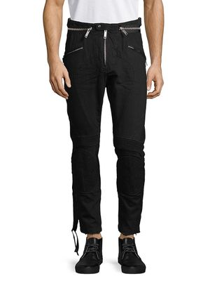 Unravel Project Strappy Ribbed Pants