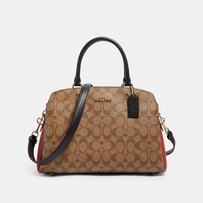 COACH Lillie Carryall In Colorblock Signature Canvas