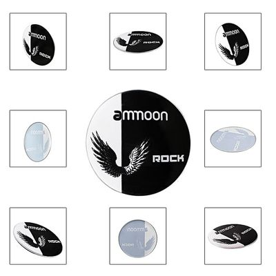 Ammoon 22 Inch Bass Drum Head With Special Wings Pattern