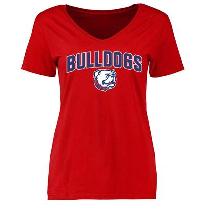Louisiana Tech Bulldogs Women's Proud Mascot T-Shirt - Red