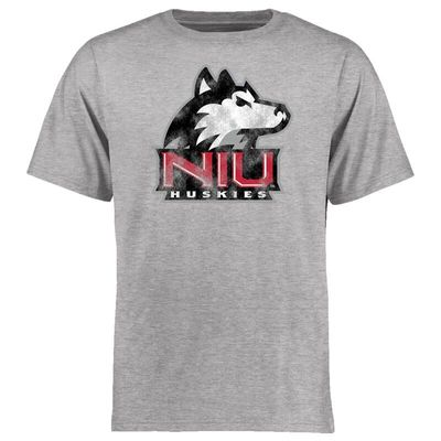 Northern Illinois Huskies Big & Tall Classic Primary T-Shirt - Ash