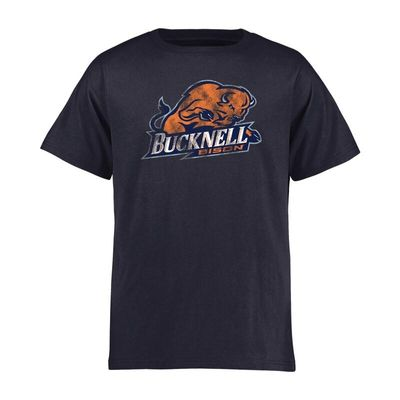 Bucknell Bison Youth Classic Primary T-Shirt - Navy