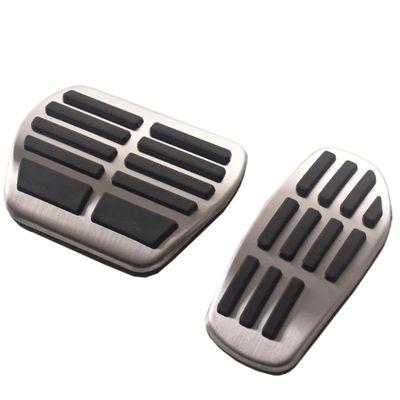 Sport stainless steel Fuel Brake Footrest Pedal MAT for Renault Clio duster scenic 3 Talisman megane Espace