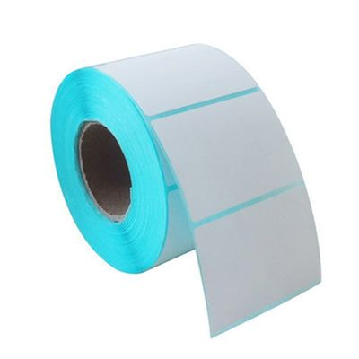 White Label Sticker Thermal Paper 5*4cm On Rolls Adhesive Household 700pcs For Office Kitchen Jam