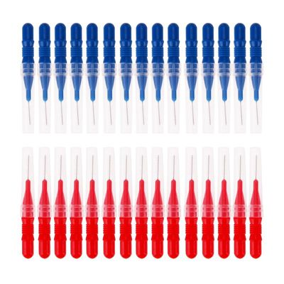 30pcs Tooth Flossing Head Hygiene Dental Plastic Interdental Brush Toothpick Oral Care Toothbrushes Stylish TeethBrush