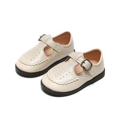 Baby Shoes Boys Girls Leather Shoes Pure Color Casual Shoe Spring Autumn Kids Student Moccasins Breathable SMG067