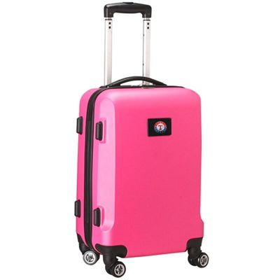 Texas Rangers 21In 8-Wheel Hardcase Spinner Carry-On - Pink