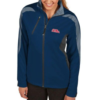 Ole Miss Rebels Antigua Women's Discover Full-Zip Jacket - Navy
