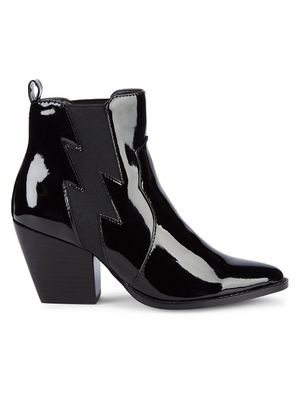Kendall + Kylie Kaden Patent Pull-On Booties