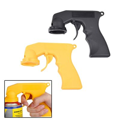 Aerosol Spray Can Gun Handle With Full Grip  Adapter Locking Collar For Car Paint Care Maintenance Painting Paint Tool