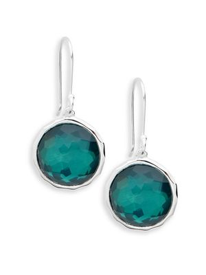 Ippolita Wonderland Sterling Silver Doublet Circle Drop Earrings