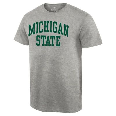Michigan State Spartans Basic Arch T-Shirt - Gray