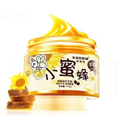 KOOGIS Honey Milk Hand Wax Hand Mask Nourish Mositurizing Exfoliate Anti-wrinkle Brightening Skin Care