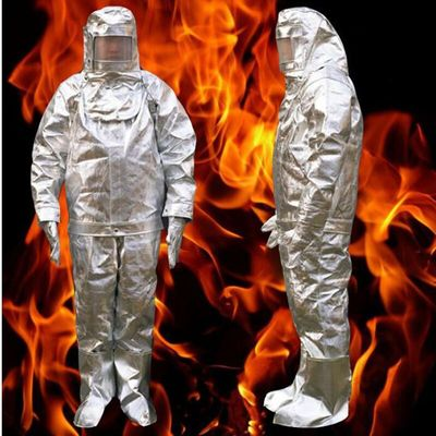 Fire Insulation Suit 1000 °C HighTemperature Anti-scalding Radiation Protective Cloth Protective Insulated Fire-proof Suit DFH04