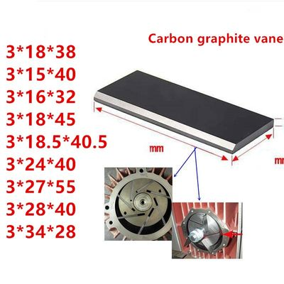 supply all models vacuum pump carbon vanes graphite vane,carbon plate carbon vane Free shipping