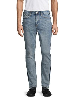 Ovadia & Sons Slim-Fit Side Tape Jeans