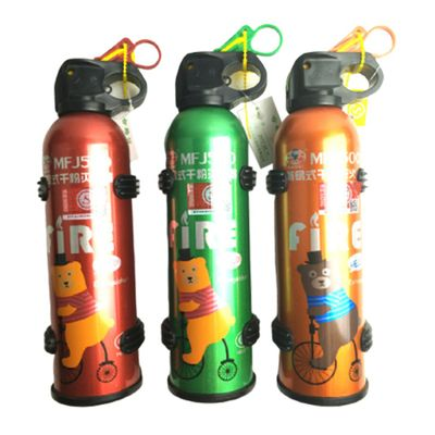 Portable Car Fire Extinguisher With Hook Dry Chemical Fire Extinguisher Safety Flame Fighter Home Office Car