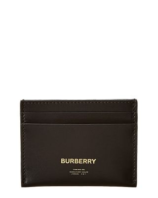 Burberry Horseferry Print Leather Card Case
