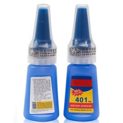 1 Bottle 401 Rapid Fix Instant  Fast Adhesive Stronger Super Glue Multi-Purpose Leather Quick Dry Universal Glue TSLM1