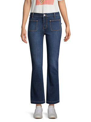 Current/Elliott The Cropped Bootcut Jeans