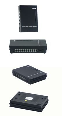 EXCELLTEL easy programming Telephone System/ Office PBX/ MD308/ 3 PSTN line 8 extension Mini pabx