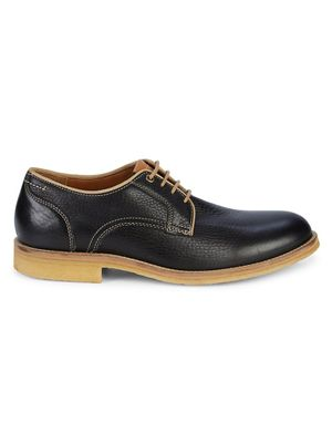 Johnston & Murphy Howell Plain-Toe Leather Derby Shoes