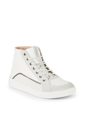 Diesel Fashionisto Perforated High-Top Sneakers