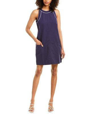 tyler boe Tipper Linen-Blend A-Line Dress