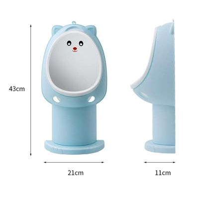 Baby Boy Potty Toilet Training Cute Bear Children Stand Vertical Urinal Boys Penico Pee Infant Toddler Wall-Mounted