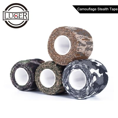 LUGER 5cmx4.5m Camping Camo Outdoor Hunting Shooting Tool Camouflage Stealth Tape Waterproof Wrap Durable Army Gun Accessories