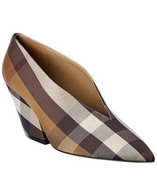Burberry Check Technical Pump