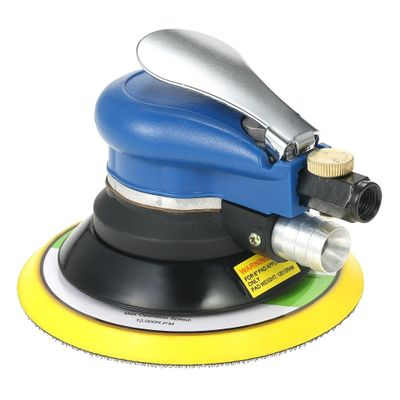 6 Inches 10000RPM Dual Action Electric Woodworking Grinder Polisher Pneumatic Air Sander Car Paint Care Tool Polishing Machine