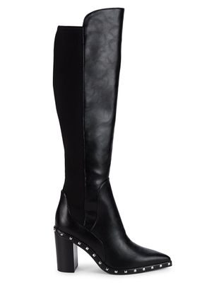 Charles by Charles David Daley Studded Knee-High Boots