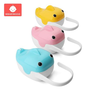 1Pc Baby Pacifier Storage Box Portable Cute Whale Shape Kids Pacifier Nipple Cradle Case Holder Travel Storage Box Pacifier Box