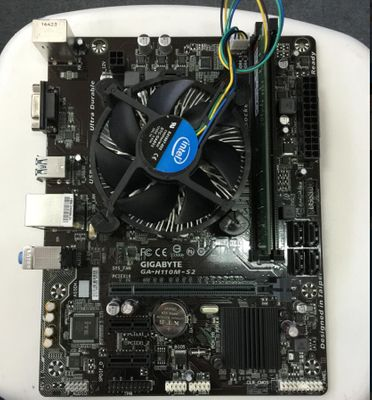 KcmsywjR Intel G4600 3.6 plus SSD 120G DDR4 4GB 2400HZ H110M Motherboard  Combination of packages