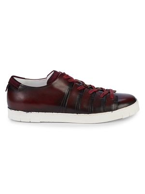 Corthay Leather Low-Top Sneakers