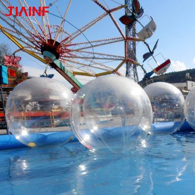 PVC Water Walking Ball Inflatable Dance Shows Ball with Normal/Import Zip for Children Adult Family Outdoor Sports 1.5-2.5m